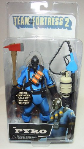 """NECA Team Fortress 2 The Pyro Action Figure, 7"""""""