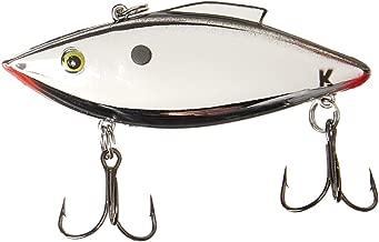 Rat-L-Trap KRT25 Knock-N-Trap Fishing Lure, 1/2-Ounce, Chrome/Black