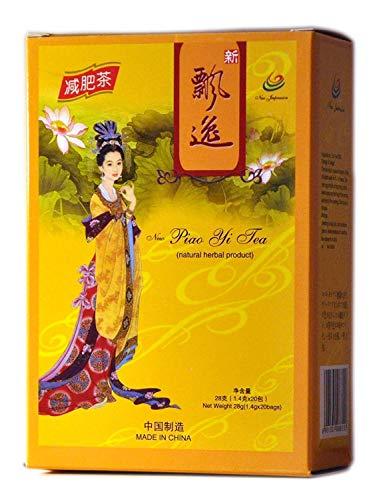 4 Packs of Genuine Piao Yi Slimming Diet Tea 80 Tea Bags