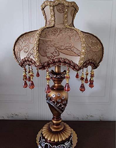 De estilo europeo, lámpara de mesa, 13 pulgadas de...