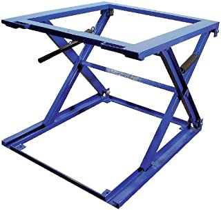 Vestil PS-4045 Steel Adjustable Pallet Stand, 5000 lbs Capacity, 45-3/4