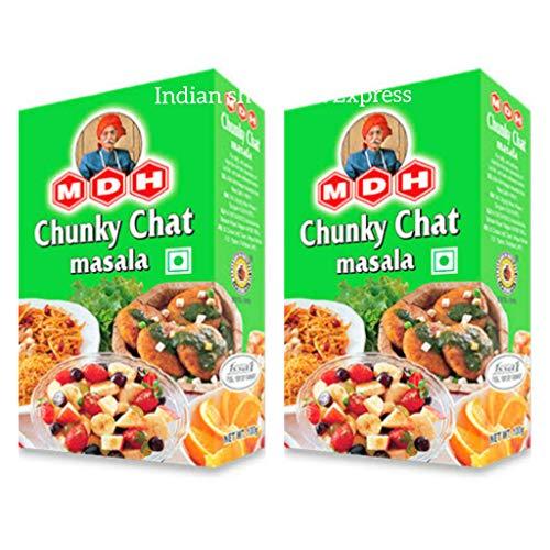 MDH Inhalt: 2 Stück Chunky Chat Masala 3,5 Unzen (100 g)