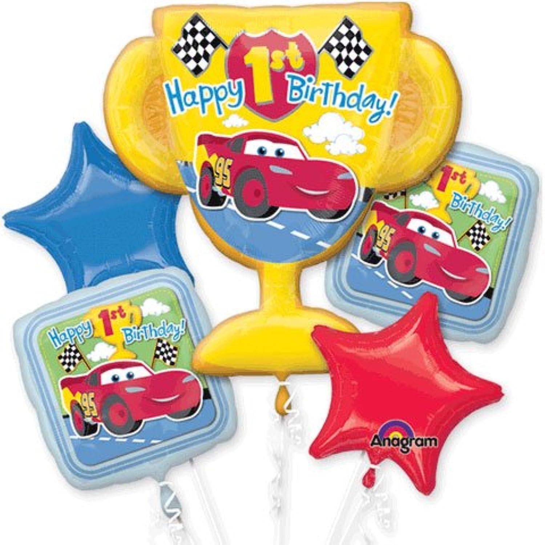 Disney Disney'S Cars Trophy Five Piece Balloon Bouquet, New Arrival