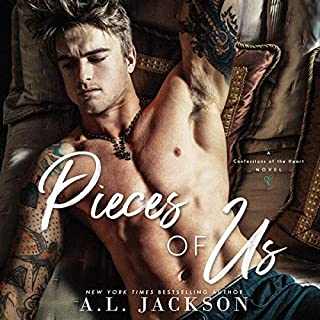 Pieces of Us                   By:                                                                                                                                 A. L. Jackson                               Narrated by:                                                                                                                                 Andi Arndt,                                                                                        Jacob Morgan                      Length: 10 hrs and 23 mins     244 ratings     Overall 4.7