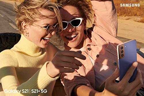 Samsung Galaxy S21+ 5G, Android Smartphone ohne Vertrag, Triple-Kamera, Infinity-O Display, 128 GB Speicher, leistungsstarker Akku, Phantom Silver - 4