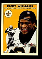 2000 Fleer Tradition New Orleans Saints Team Set with Ricky Williams & Jake Delhomme RC - 11 NFL Cards