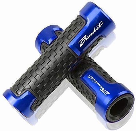 22mm 7 8 Lenkergriffe Griff Griffgummis Für Suzuki Gsf 250 600 600s 650 650s 650n 1200 1250 Bandit 650s Blau Auto