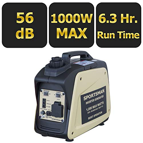 Sportsman 1,000-Watt Gasoline Powered Digital Inverter Generator