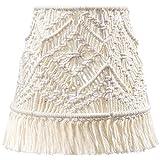 Mkono Macrame Lamp Shade Boho Decor...