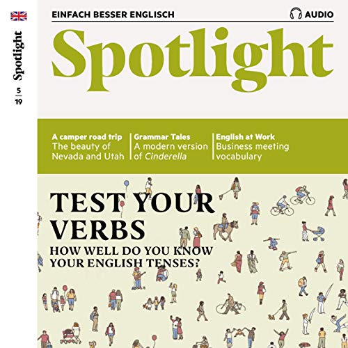 Spotlight Audio - Test your verbs. 5/2019 Titelbild