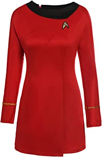 Wraith of East Classic Star Trek Dress Costume Adult Duty Women Uniform
