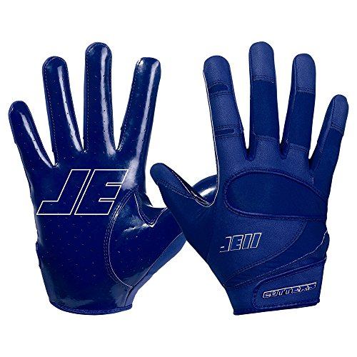 Cutters American Football Handschuhe JE11 Signature Series - Navy Gr. XL