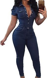 e9c77163402ea8 Amazon.fr : jean femme - Combinaisons et combishorts / Femme : Vêtements