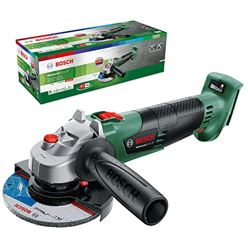 Bosch Winkelschleifer AdvancedGrind 18 (ohne Akku, 18 Volt System, Scheiben-Ø: 125 mm, im Karton), 18 V