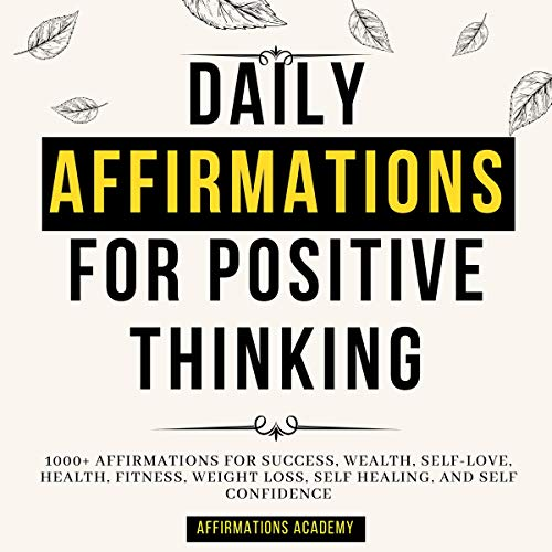 Daily Affirmations for Positive Thinking cover art