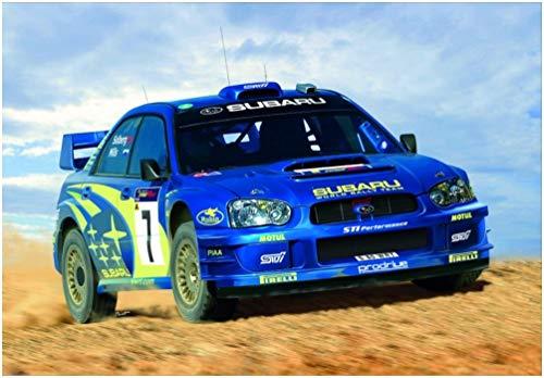 Heller 80750 - Modellino da Costruire, Auto Subaru Impreza WRC '03, Scala 1:24 [Importato da Francia]