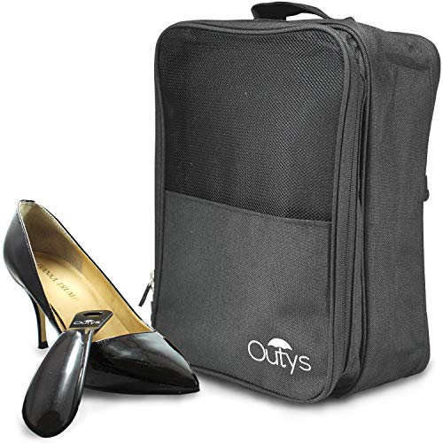 Schuh-Reisetasche, Organizer, wasserdicht, tragbar, 3 Fächer, Aufbewahrungswürfel