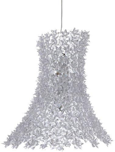 Kartell 9250B4 Hängeleuchte Bloom transparent, glasklar