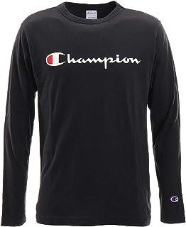 [チャンピオン] ロングTシャツ 長袖Tシャツ 綿100% 定番 スクリプトロゴプリントロングスリーブTシャツ C3-Q401 メンズ