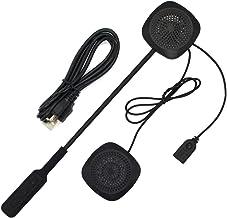 Andoer Fones de ouvido sem fio Bluetooth Capacete de intercomunicação para motocicleta de alta qualidade Fone de ouvido se...
