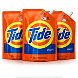 Tide Laundry Detergent Liquid, Original Scent, HE Turbo Clean, Pack of...