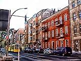 HCYEFG Puzzle 1000 Piezas Rompecabezas Vista A La Calle De Berlín Alemania Rompecabezas