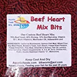 Aquatic Foods Inc. S&B Beef Heart Mix Bits for...