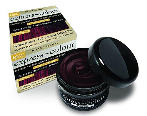 Mahagonibraun Haarfarbe Auffrischer & Intensiv Conditioner PPD & Bleichmittel frei