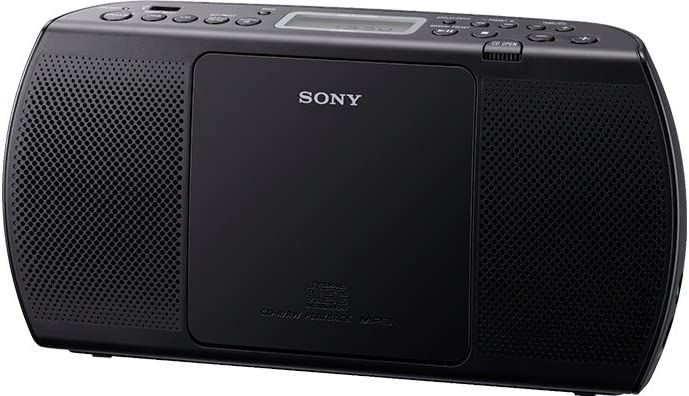 Sony Zs Pe40cp Portabler Player Radio Mp3 Cd Player Ukw Tuner Usb Schwarz Audio Hifi