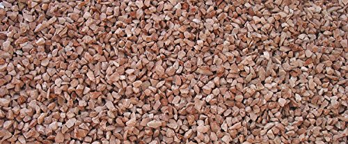 Metroquadrocasa Graniglia marmo Rosso Verona 8/12mm sacco 25 kg sassi ornamento aiuole giardino