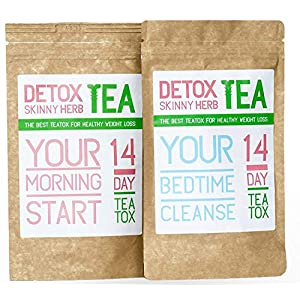 Detox products 14 Days Teatox: Detox Skinny Herb Tea – Detox Skinny Herb Tea – Effective