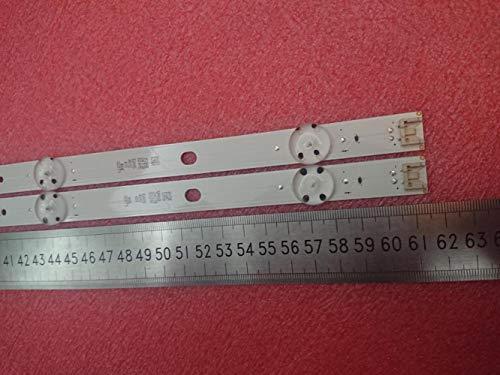 Miwaimao New 10 PCS/Lot 5LED 615mm LED Backlight Strip for LG 32LK6100PLB...