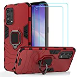 Ytaland for Oppo Find X3 Lite 5G Case, with 2 x Tempered