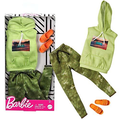 Mattel Malibu Style | Ken Trend Mode | Barbie GHX51 | Puppen-Kleidung