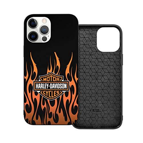 N / A Harley Davidson Handyh¨¹lle iPhone 12 PC Materiale Unisex per proteggere la persistenza del telefono resistente alla polvere Iphone12mini-5.4