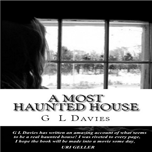 A Most Haunted House audiobook cover art