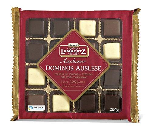 Lambertz Domino Auslese 3fach, 4er Pack (4 x 200 g)