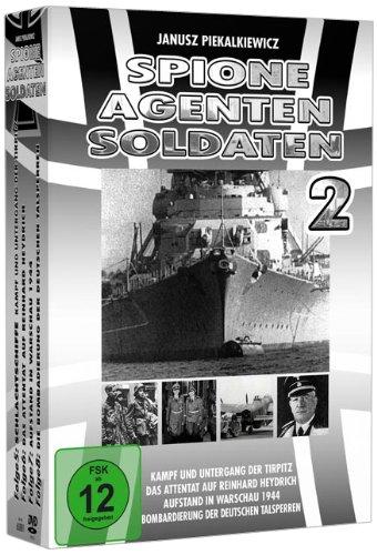 Spione, Agenten, Soldaten - Box 2 (4er - Schuber) [4 DVDs]
