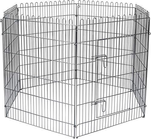 Flamingo High Cage pour Chiot 160 cm diamètre 100 cm