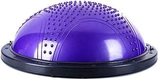 GLJJQMY Yoga Balance Ball Bola Pilates Balance Hemisphere Gym Workout 3 Colors Massage Balance Ball (Color : B)