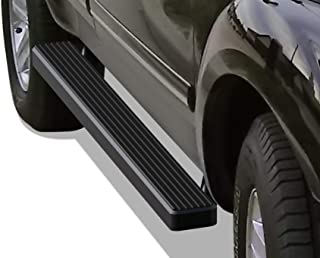 APS iBoard (Black Powder Coated 4 inches) Running Boards Nerf Bars Side Steps Step Rails Compatible with 2004-2010 Dodge Durango Sport Utility 4-Door & 06-10 Chrysler Aspen