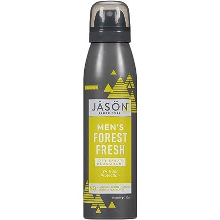Jason Dry Spray Deodorant, Men's Forest Fresh, 3.2 Oz