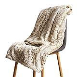 OPWYU Manta Sofa Grande Throw Blanket,Resistente A Las Arrugas Sensorial Anti-Ansiedad para Un Mejor Sueño Y Alivio del Estrés