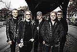 WOAIC Deep Purple Classic Rock Star Band Poster for Bar