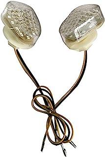 GUAIMI Fanale posteriore Indicatori di direzione Luce stop LED integrato per Kawasaki ZR7S 2000-2003 ZX-6R 1998-2002 ZX900 1998-2003 ZX-9R 1998-2005 ZZR600 2005-2007 fumo