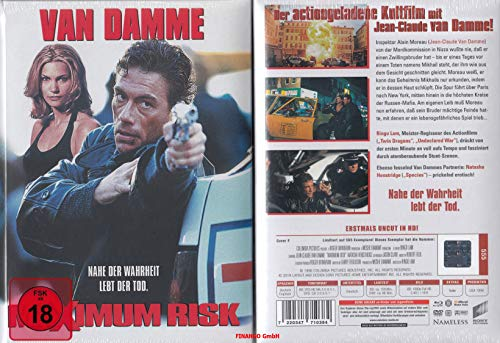 Maximum Risk - Limited Uncut Mediabook wattiert auf 555 Stk - Cover F - DVD - Blu-ray