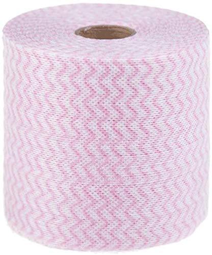 1 rollo (20 metros) desechables lavado de cara toalla maquillaje soplo almohadillas de algodón suave limpieza profunda papel limpiador cosmético esmalte de uñas removedor