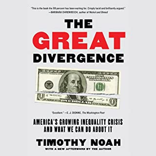 The Great Divergence audiobook cover art