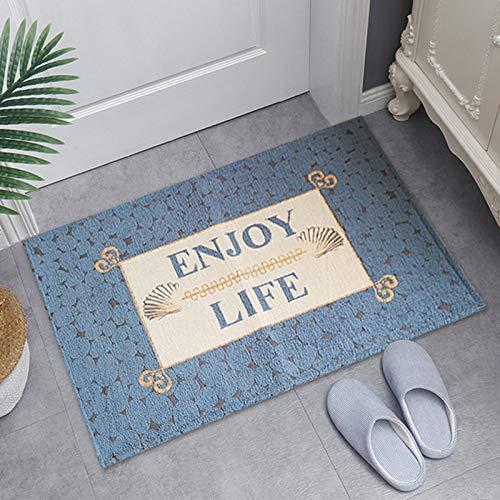 YYZZ Teppich Flauschiger Schlafzimmerteppich Weiche Bodenmatte rutschfeste Wohnzimmerteppiche Zottelige Plüschteppiche Für Wohnkultur (schwarz Grau, 80 * 120 cm)(Size:50 * 80CM,Color:C.)