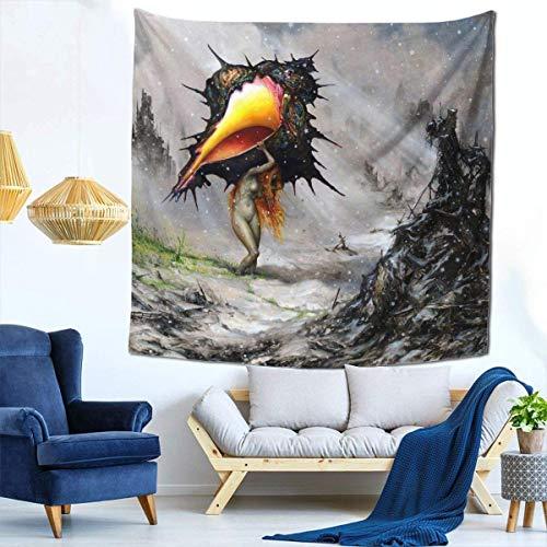 Manta decorativa de la pared de los tapices para el tapiz de la sala de estar y del dormitorio 59 * 59 pulgadas Circa Survive